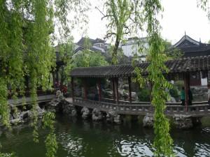 Steg durch den Wu Garden