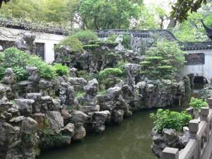 Steingarten im Yu Garden
