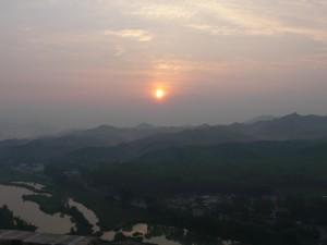 Die Sonne am Morgen I
